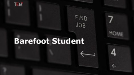 Barefoot Student