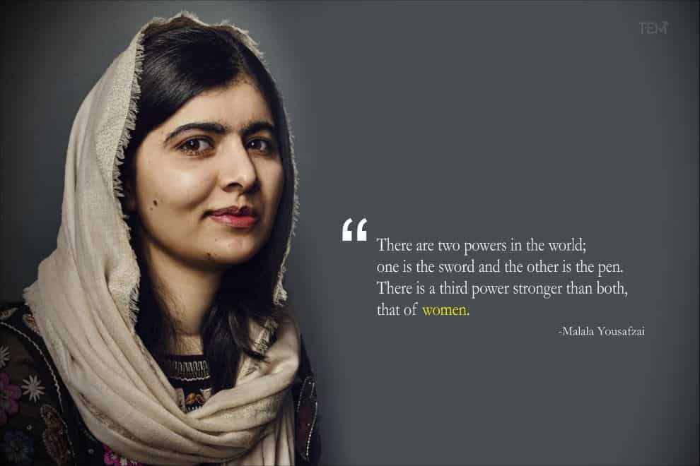 15 Inspirational Malala Quotes To Guide You Towards Success